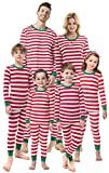 Matching Family Christmas Boys Girls Pajamas Striped Kids Sleepwear Children Clothes Women XL