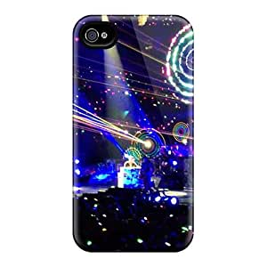 DannyLCHEUNG Iphone 4/4s Anti-Scratch Hard Phone Case Provide Private Custom Lifelike Bowling For Soup Band Skin [JgY974ocAA]