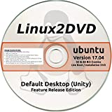 Ubuntu Linux 17.04, Release Edition, 32 & 64 Bit Combo DVD