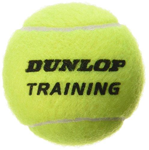 Dunlop Train Ylw 60Poly - Pelotas de tenis (entrenamiento, 60 ...