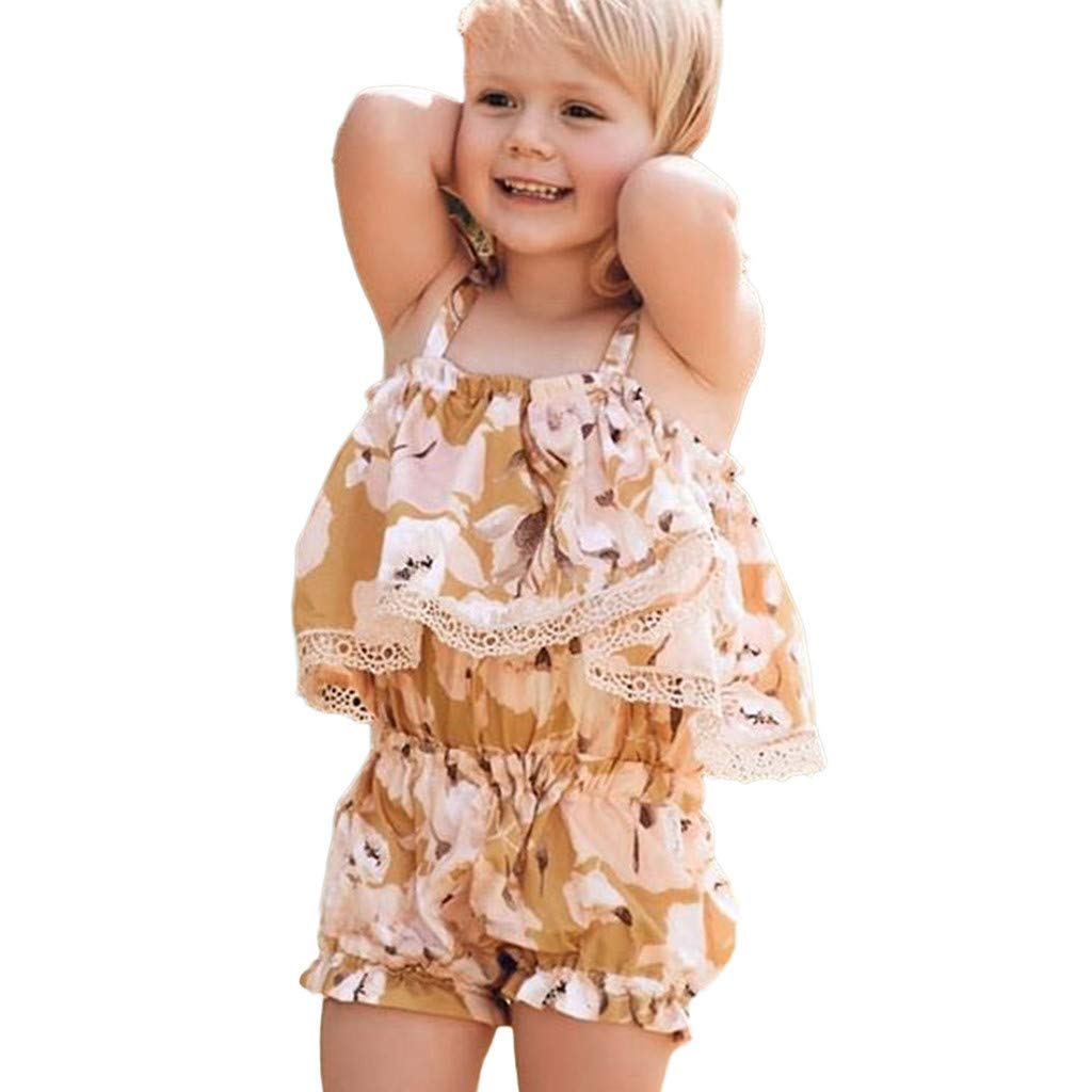 Short Pants Summer Clothes Set Womola Baby Girl Ruffle Short Sleeve Flower Ball 2 Pieces With t-Shirt