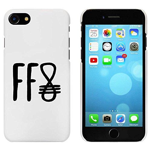 Blanc 'Hiéroglyphique' étui / housse pour iPhone 7 (MC00071398)