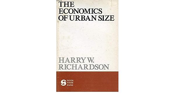 economics of urban size.