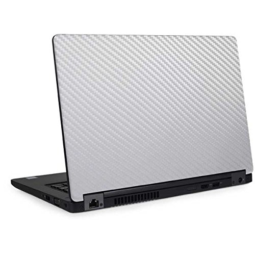 Skinit White Carbon Fiber Latitude 5490 Skin - Officially Licensed Originally Designed Laptop Decal - Ultra Thin, Lightweight Vinyl Decal Protection by Skinit (Image #4)