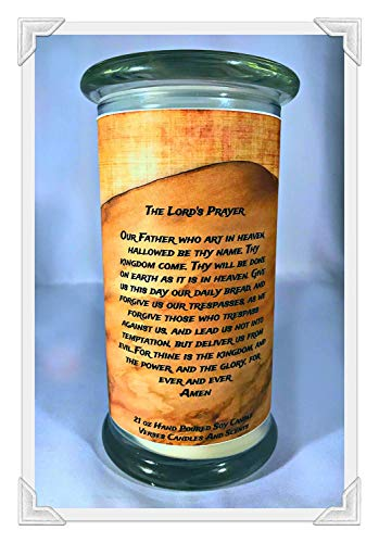 Price comparison product image Candle Verses and Scents The Lord's Prayer. 21oz. $21.95 (Traditional Words to The Our Father)