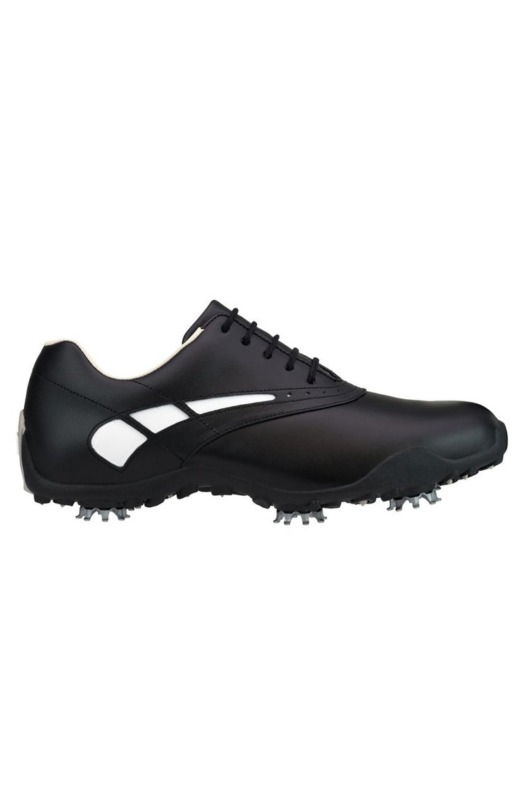 FootJoy c/o Womens 97007 LoPro Black/White Waterproof Leather Golf Shoes
