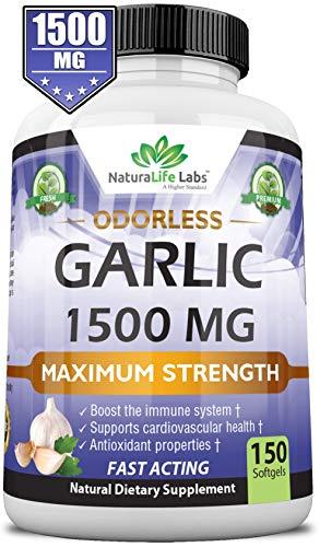 Odorless Pure Garlic 1500