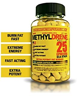 metildrene 25 pillole dimagranti con efedrina