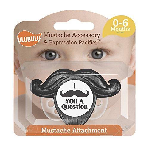 Ulubulu Mustache Accessory Expression Pacifier product image