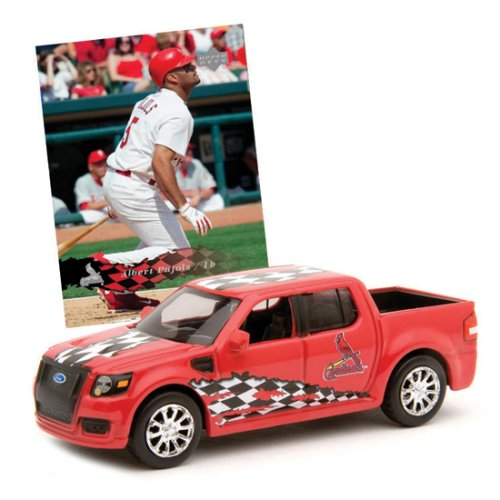 St. Louis Cardinals - Albert Pujols Upper Deck Collectibles MLB Ford SVT Adrenalin Concept with Trading Card - Svt Baseball