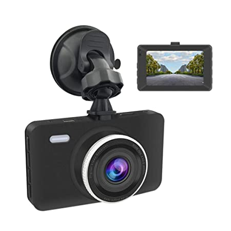 Review Car DVR,Pausseo 3'' LCD