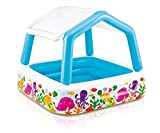Intex Sun Shade Inflatable Pool, 62″ X 62″ X 48″, for Ages 2+
