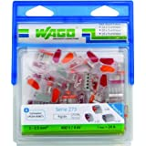 Wago WAG273/PAN50 Wire Connectors 10 x 2 Wires and 30 x 3 Wires and 10 x 5 Wires by WAGO