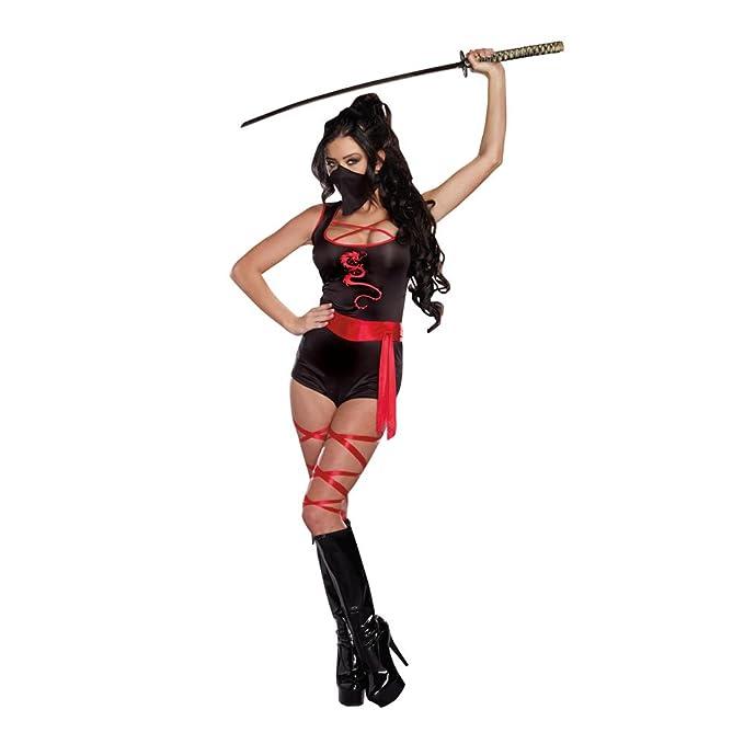 Red Black Kickin Arse Costume