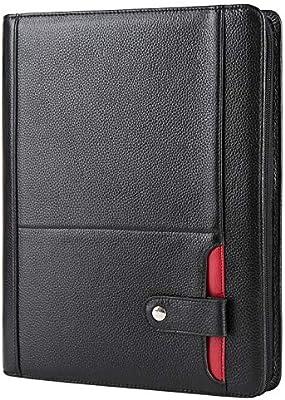 8f95b62b2341 Amazon.com : Genuine Leather iPad Portfolio Case Professional Office ...