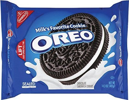 Oreo Chocolate Sandwich, 14.3 Oz, (Pack of 2)