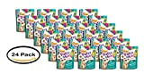 PACK OF 24 - Purina Friskies Party Mix Cat Treats Meow Luau Crunch, 2.1 OZ