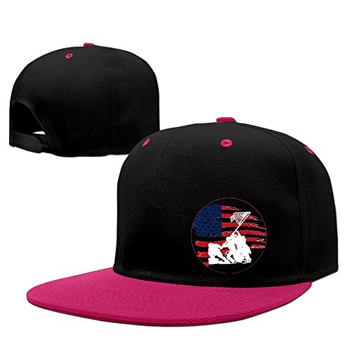 DF59O Adjustable Wounded HERO Warrior Project Baseball Cap Pink One Size