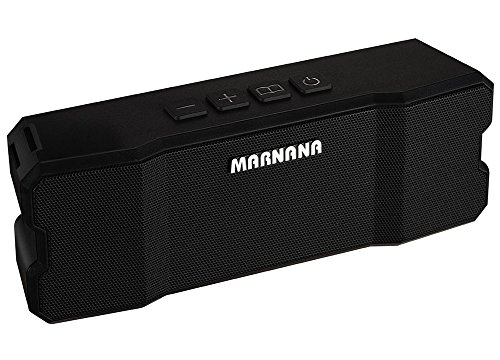 Bluetooth Speakers,Marnana Outdoor Portable Speakers IPX5 Water-Resistant with TF SD Card Slot,Wireless Speaker with 10W Stereo Loud Sound and Bass for iPhone iPad Tablet Echo Dot Android Phones