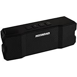 Bluetooth Speakers,Marnana Outdoor Portable Speakers IPX5 Water-Resistant with TF SD Card Slot,Wireless Speaker with 10W Stereo Loud Sound and Bass for iPhone iPad Tablet Android Smart Phones