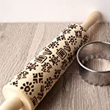 Embossing rolling pin, Hawaii pattern design, Cookies decorating rolling pin