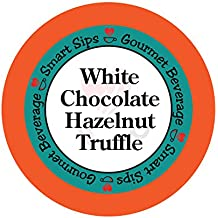 Smart Sips, White Chocolate Hazelnut Truffle Flavored Coffee, 24 Count, Single Serve Cups for Keurig K-cup Brewers