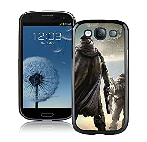 Beautiful Designed Case With Destiny Game Black For Samsung Galaxy S3 I9300 Phone Case