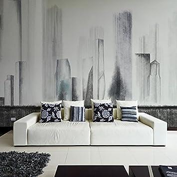 Gut HUANGYAHUI Tapeten, Schwarzes Und Weißes, Modernes Wohnzimmer, Schlafzimmer  Sofa, Hintergrundbild, Kunst