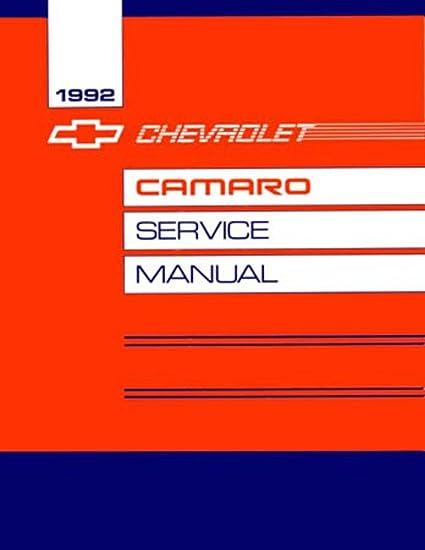 Amazon com: bishko automotive literature 1992 Chevrolet Camaro Shop