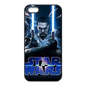 Star Wars Pattern Design Solid Rubber Customized Cover Case for iPhone 4 4s 4s-linda672