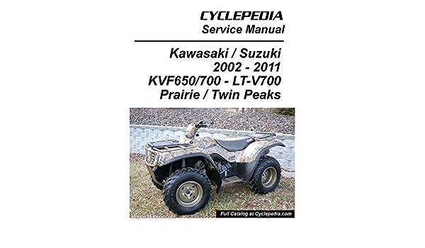 CPP-153-P Kawasaki KVF650 Brute Force / KVF650 KVF700 ... on