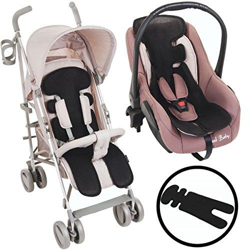 Einlage / Auflage für Kinderwagen / Buggy / Autositz / Babyschale (Gruppe 0+) Baby Kind