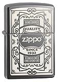 Zippo Quality Since 1932 Pocket Lighter, black Ice