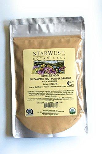 Elecampane Root Powder - Starwest Botanicals Organic Elecampane Root Powder 4oz