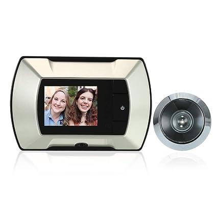 2.4 Tft Lcd Visual Monitor Door Peephole Wireless Viewer Camera Digital Electric Peephole Doorbell Monitor Door Intercom