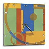 3dRose dpp_22297_1 Art Deco Squares Wall Clock, 10 by 10-Inch Review
