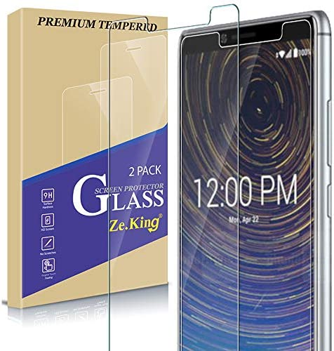 Zeking [2-Pack]Coolpad Legacy 3705A Tempered Glass Screen Protector [3D Touch][Case Friendly] Bubble Free