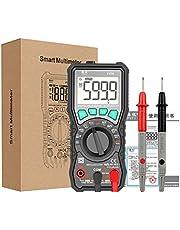 HELYZQ FY76 Multímetro digital retroiluminação com alcance automático AC/DC Transistor de tensão
