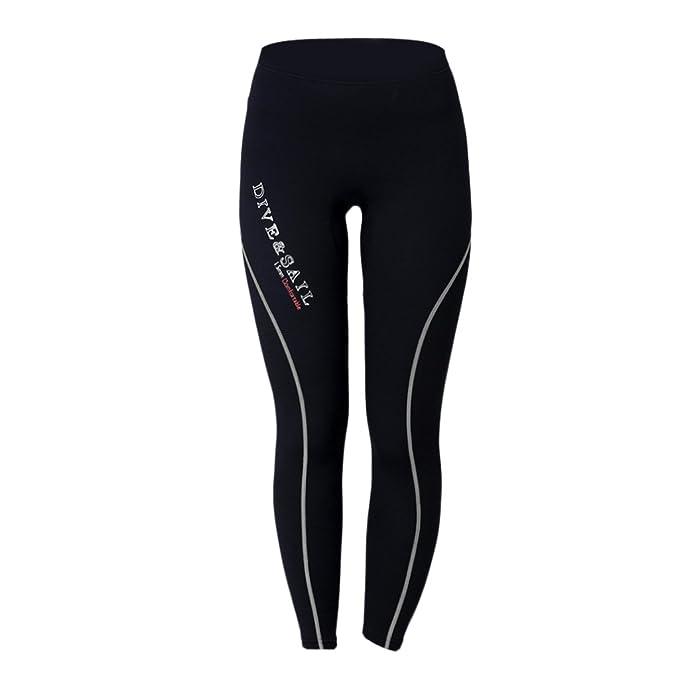 perfk Pantalones De Traje De Neopreno De 1,5 Mm Para Mujeres, Para ...