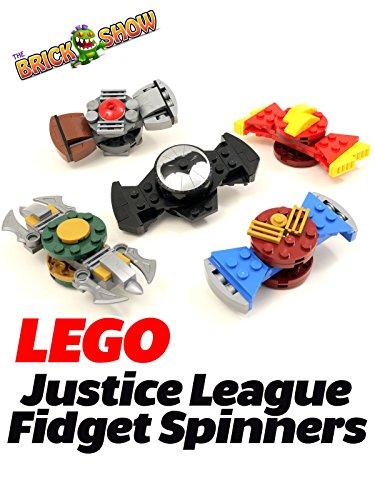 Clip: Lego Justice League Fidget Spinners