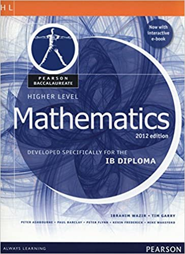 Pearson baccalaureate higher level mathematics second edition print pearson baccalaureate higher level mathematics second edition print and ebook bundle for the ib diploma pearson international baccalaureate diploma fandeluxe Image collections