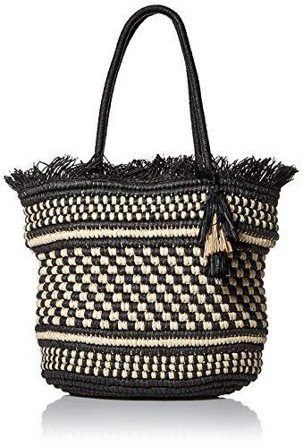 Lucky Inly Tote, Black/Natura/ - Handbag Black Lucky Bag