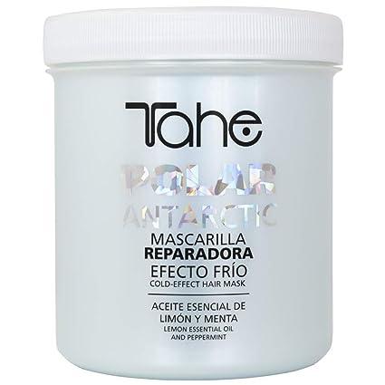Tahe Polar Antarctic Mascarilla para el Pelo/Mascarilla para el Cabello Reparadora Aceite Esencial de Limón y Menta Efecto Frío, 700 ml