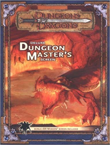 Deluxe Dungeon Master's Screen (Dungeon & Dragons Fantasy