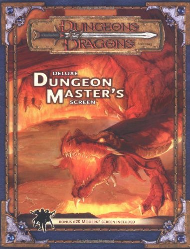 Deluxe Dungeon Master's Screen (Dungeon & Dragons Fantasy Roleplaying Accessory)