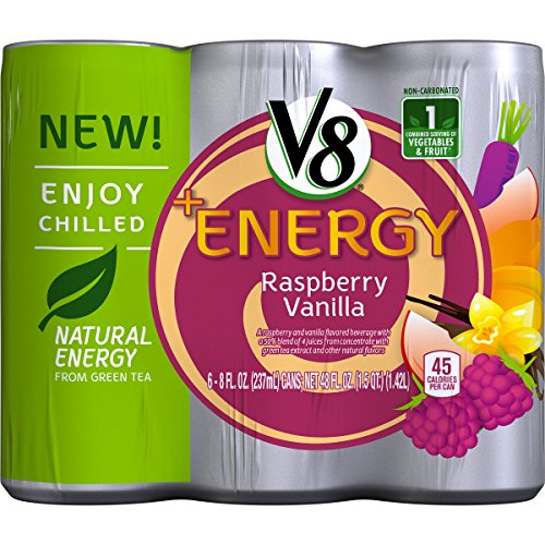 V8 Energy Raspberry Vanilla Packaging product image