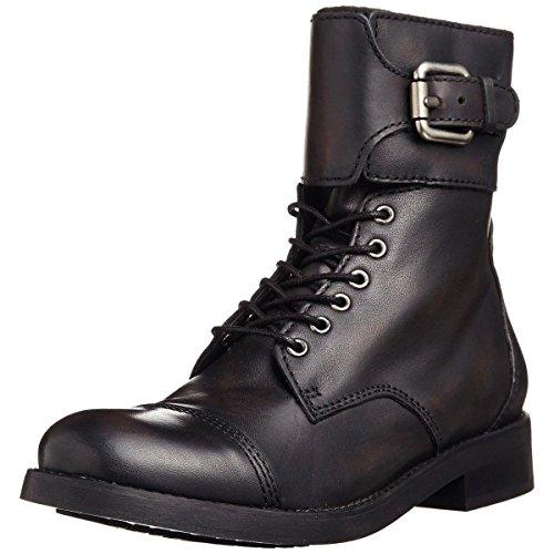 Diesel Buckle Closure Belt (Diesel Women's Grilz Bartack Riding Boot, Black, 7.5 M)