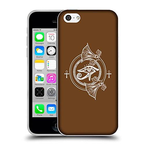 GoGoMobile Coque de Protection TPU Silicone Case pour // Q09790633 Religion 19 Sépia // Apple iPhone 5C