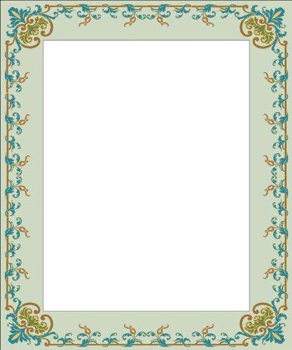 画像matting-green Vine & leaves-etchedビニールStained Glass Film , Static Clingフォトフレームデカール 03.5 in x 05 in グリーン B005LAS9NE 03.5 in x 05 in