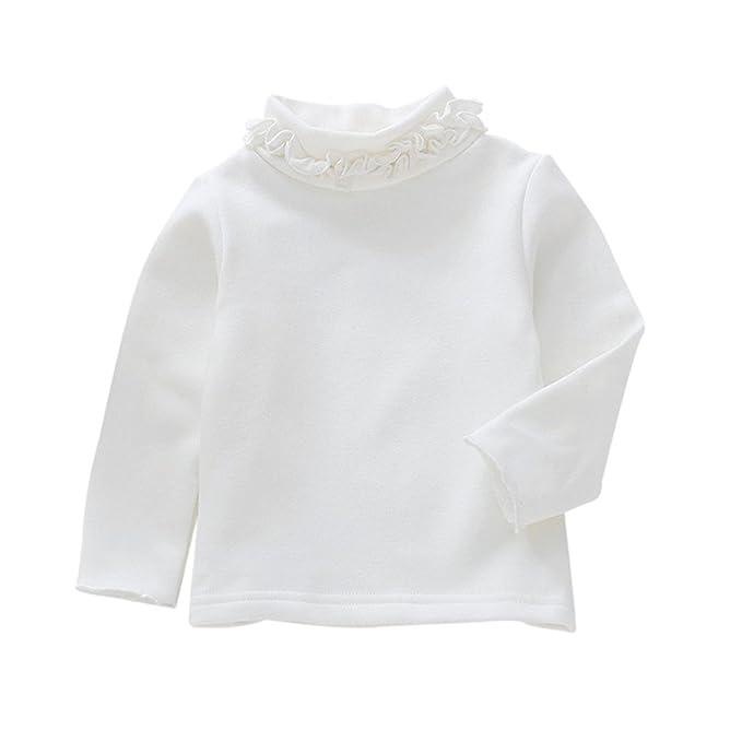 Logobeing Camisetas de Manga Larga para Bebé Niña Niñito Niños Tops Blusas   Amazon.es  Ropa y accesorios 02028378957c9